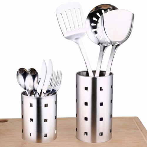 Stainless Steel Kitchen Utensil Holder Caddy Cooking Tool Or