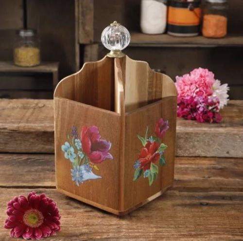 the woman spring bouquet 4 section utensil