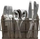 Sorbus Utensil Caddy -Silverware, Napkin Holder, and Condime