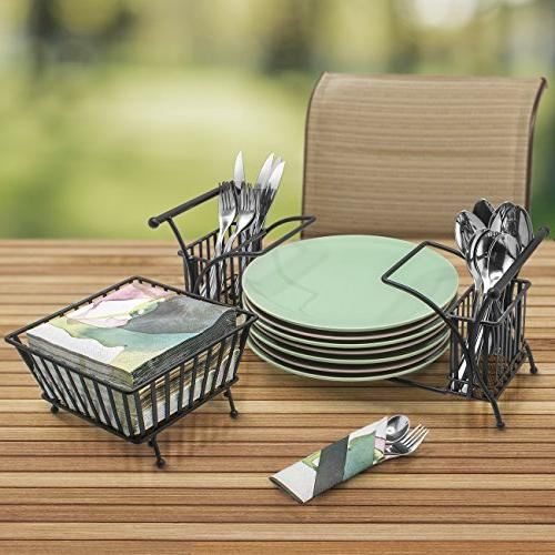 Sorbus Use For Plate Flatware — Table, Entertaining