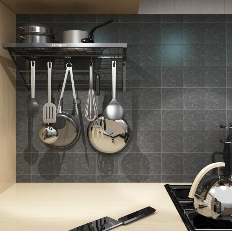 Wall Pan Cookware Holder With Hooks
