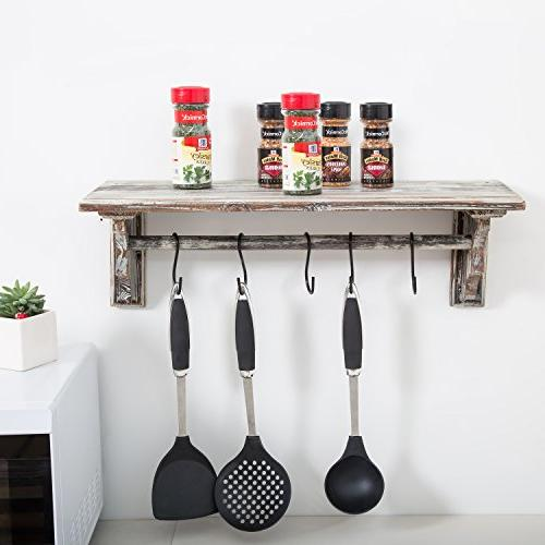 Wall Kitchen Storage and Towel Bar Hanging