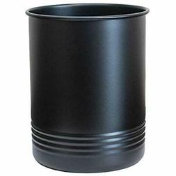 Large Black Utensil Holder - Kitchen Crock- To Organize Your