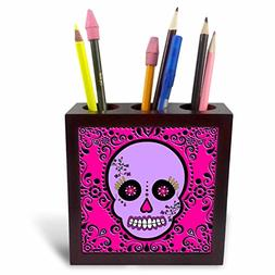 3dRose LLC Day of The Dead Skull Dia De Los Muertos Sugar Sk