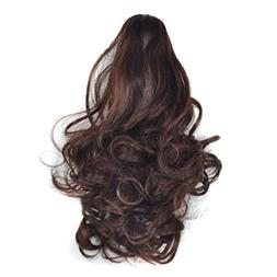 "LiPing 9.8"" Long Ponytail Hair One Piece Hairpiece Synthetic"