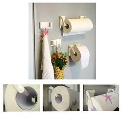 Agordo Magnetic Paper Towel Hold Kitchen Rack Roll Holder Su