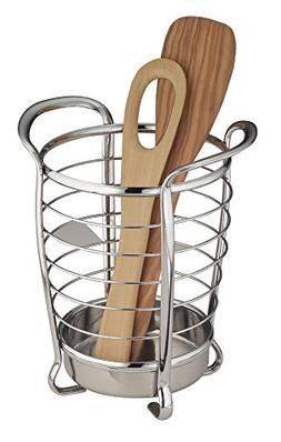 mDesign Utensil, Spatula, Silverware Holder for Kitchen Coun