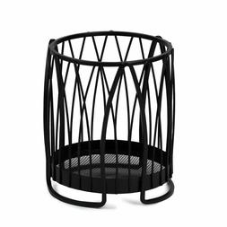 Metal Twist Round Kitchen Cooking Utensil Holder Storage Cou