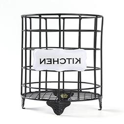 NIKKY HOME Metal Wire Utensil Holder Cutlery Storage for Kit