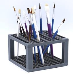Multi Bin Art Brush Organizer 96 Hole Plastic Pencil & Brush