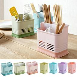 Multifunction Utensil Holder Chopsticks Rack Organizer Flatw