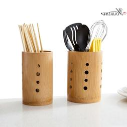 OYOURLIFE Natural Bamboo Tableware Drainage <font><b>Holder<