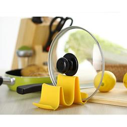 New Wave Style Pan Pot Cover Rest Holder Kitchen Utensil Too