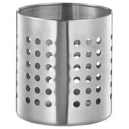 Ikea Ordning Stainless Steel Utensil Holder, 5-3/8""