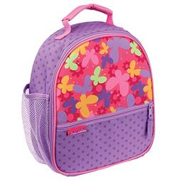 Stephen Joseph All Over Butterfly Printed Lunch Box with Fro