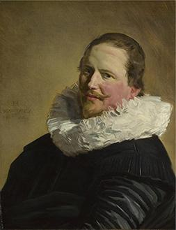 'Frans Hals Portrait Of A Man In His Thirties ' Oil Painting