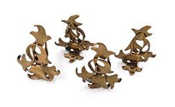 """Sassafras"" Place Card Holders  by Michael Michaud for Silve"