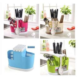 plastic draining rack cage cutlery chopsticks utensil