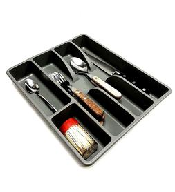 Plastic Flatware Drawer Kitchen Utensil Silverware Storage H
