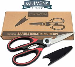 NOVASKO Premium Heavy Duty Kitchen Shears -NEW-FAST SHIPPING