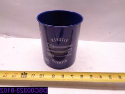 Qty = 20: Now Designs Navy Utensil Crock Tin. Some may have
