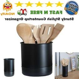 Retro Vintage Large Cooking Utensil and Kitchen Gadgets Hold