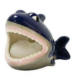 Boston Warehouse Shark Scrubby Holder & Non-scratch Dish Scr
