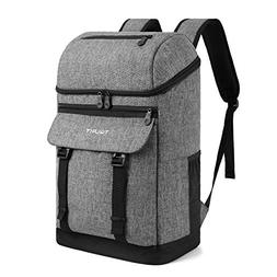TOURIT Cooler Backpack Insulated Backpack Cooler Stylish Lea