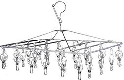 Pro Chef Kitchen Tools Stainless Steel Clothes Drying Rack -