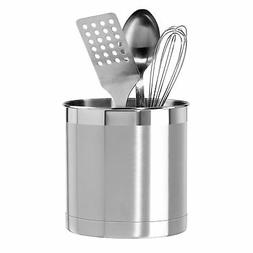 stainless steel jumbo utensil holder