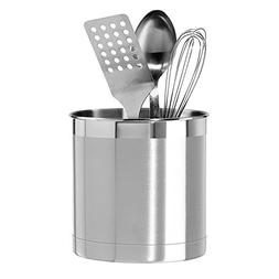 Oggi Stainless Steel Jumbo Utensil Holder by Oggi