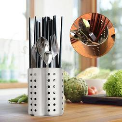 Stainless Steel Kitchen Storage Utensil Holder Spoon Cutlery