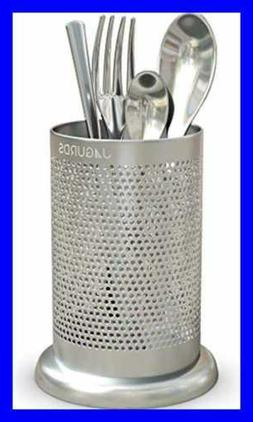 Jagurds Stainless Steel Utensil Holder - Rust-Proof Kitchen