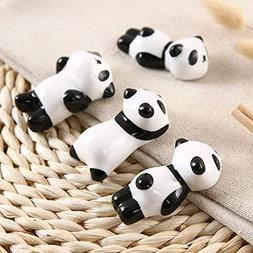 Wall of Dragon Storage Trays Cute Panda ceramic chopsticks h