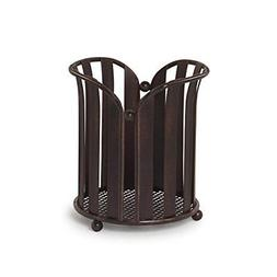 Spectrum Diversified Stripe Utensil Holder Oil Rubbed Bronze