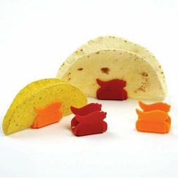 "Norpro Taco Stand Pack Of 4 Red & Orange 2.5"" X 1.5"" X 1.5"""