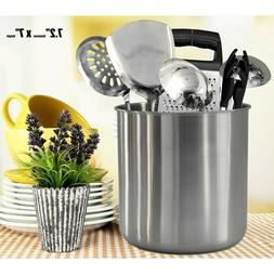 Utensil Caddy Large Holder Kitchen Countertop Stainless Stee