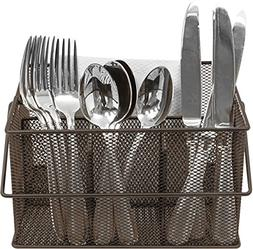 Sorbus Utensil Caddy — Silverware, Napkin Holder, and Cond