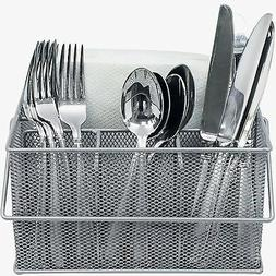 Sorbus Utensil Caddy  Silverware Napkin Holder and Condiment