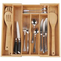 Cutlery Tray with 7 Compartments,Used for Drawer Organizer a