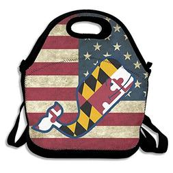 Vineyard Vines Maryland Lunch Box Bag Lunch Tote Lunch Holde