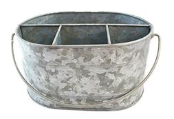 wellpackbox galvanized tub caddy tin