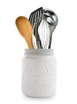 Wide Mouth Mason Jar Utensil Holder by Comfify - Decorative