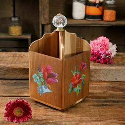 Wooden Utensil Holder Cooking Cookware Kitchen by The Pionee