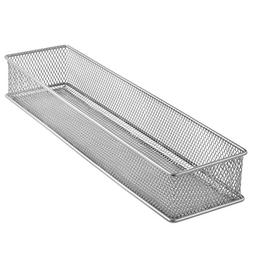 YBM HOME Silver Mesh Drawer Cabinet and or Shelf Organizer B